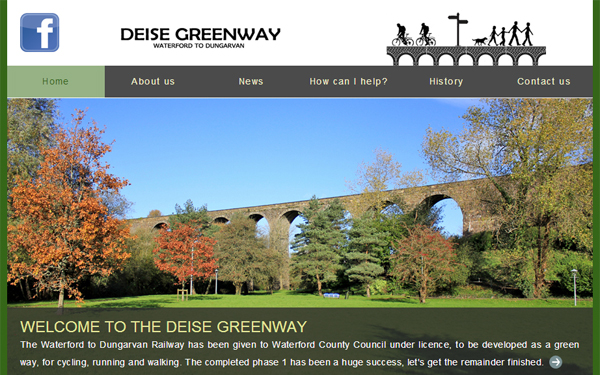 Website for Deise Greenway