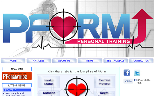 Pform USA – improvements to design and CMS