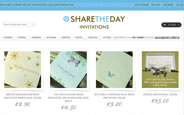 Magento CMS for ShareTheDay